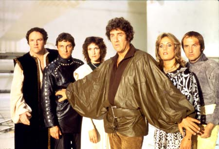 The Blakes 7 crew, taken from crepehanger.com